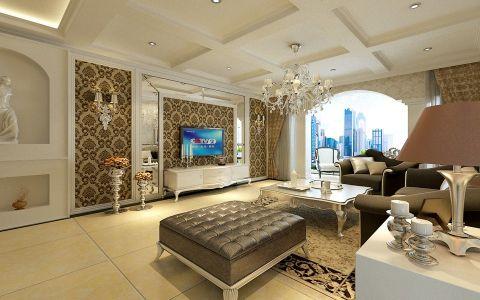 金龙星岛国际欧式风格四居室效果