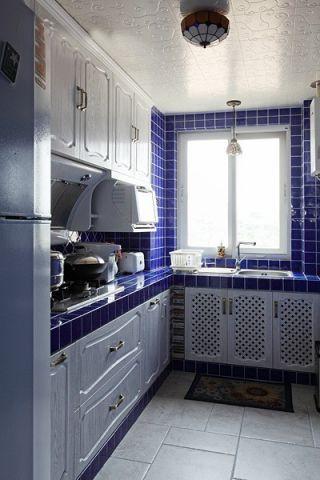 2021地中海90平米效果图 2021地中海二居室装修设计