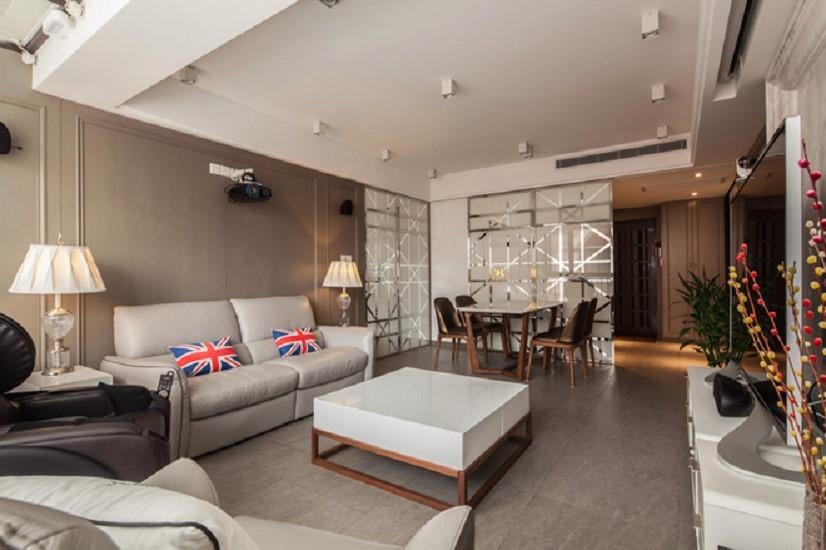 3室2卫1厅106平米混搭风格