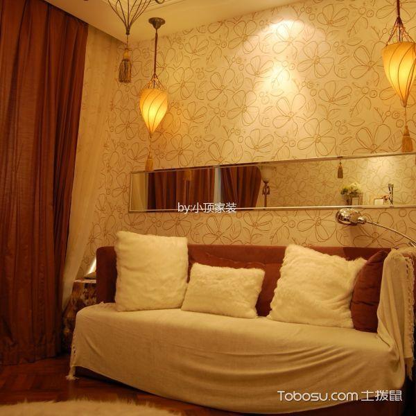 书房白色沙发简欧风格装饰效果图