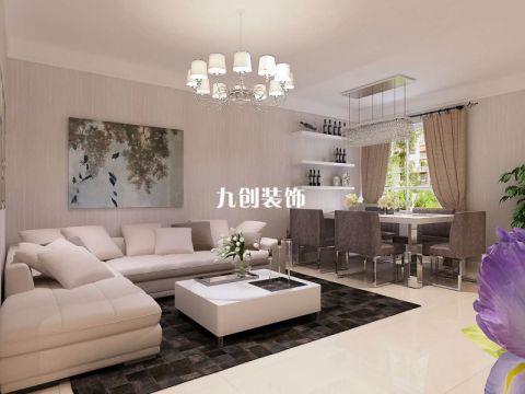 2021简约100平米图片 2021简约三居室装修设计图片