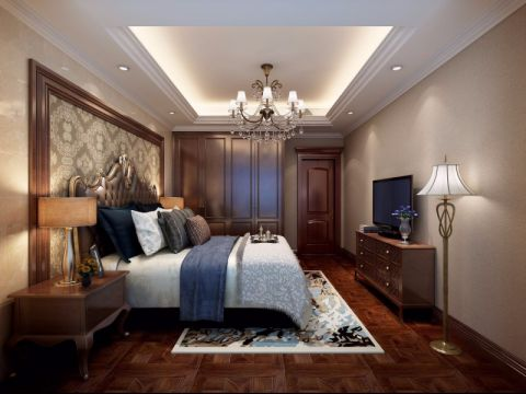 客厅吊顶新古典风格装修图片