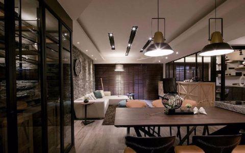 上海巴林三室工业风装修效果图