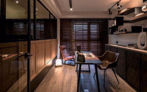 书房窗帘经典风格装潢图片