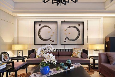 2019中式100平米图片 2019中式三居室装修设计图片