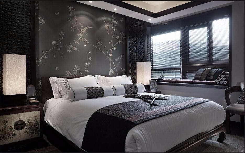 3室2卫2厅140平米中式风格