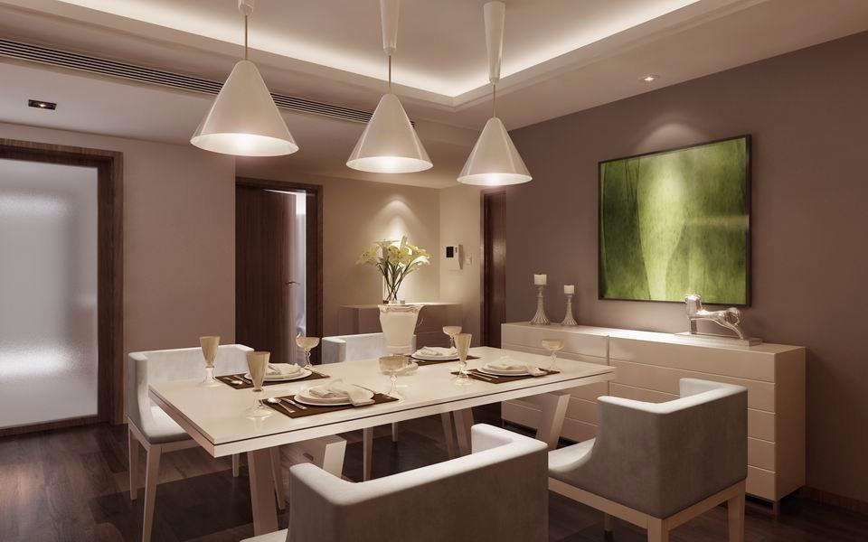 3室1卫1厅108平米现代简约风格