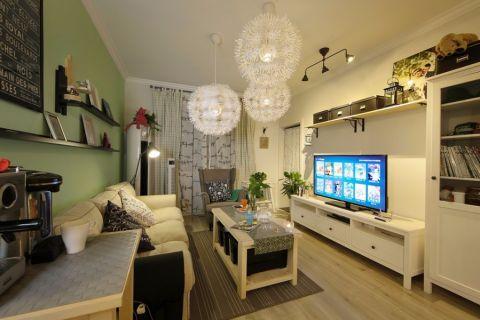 2021北欧90平米效果图 2021北欧二居室装修设计