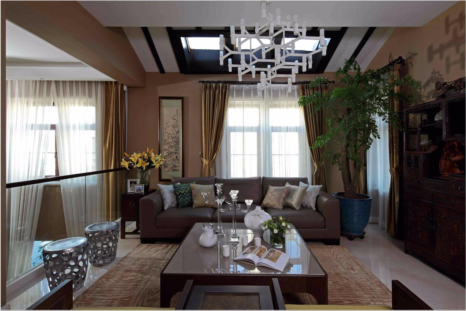 2室2卫1厅120平米混搭风格