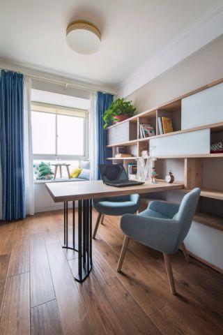 2020现代简约90平米效果图 2020现代简约楼房图片