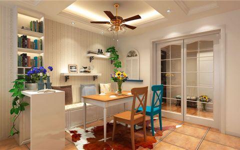 2019美式90平米效果图 2019美式二居室装修设计