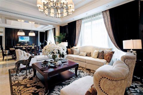 香樟园复式欧式家装效果图