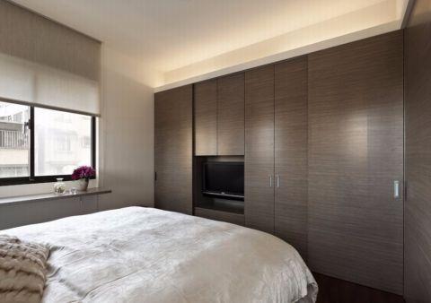 现代简约卧室衣柜设计方案