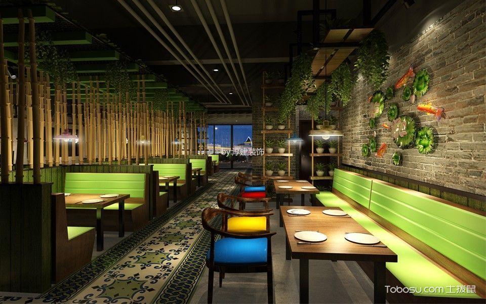 餐饮店餐厅排座装潢实景图片