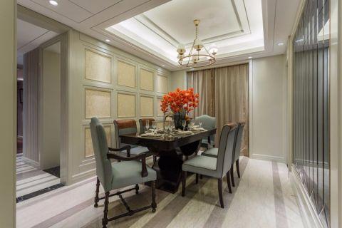 餐厅走廊美式风格装饰设计图片