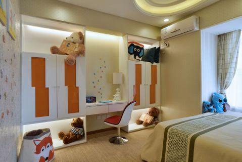 卧室背景墙简约风格装潢效果图