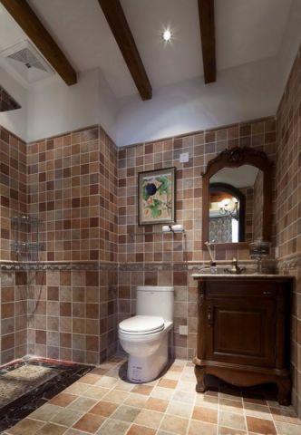 卫生间吊顶混搭风格装饰效果图
