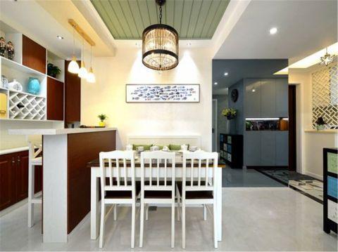 厨房吧台现代简约风格装饰设计图片