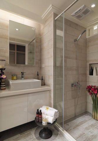 卫生间吊顶混搭风格装修设计图片