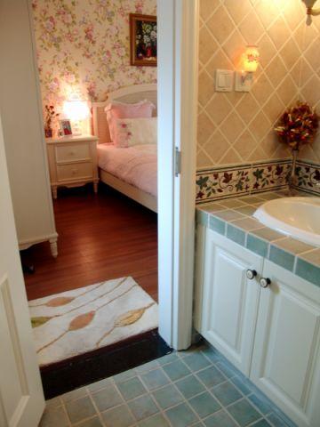 卧室照片墙美式风格装修图片