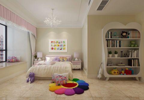 儿童房窗帘新古典风格装潢效果图