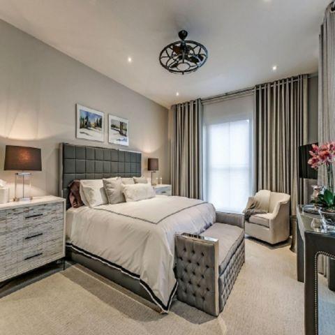 2021现代简约100平米图片 2021现代简约三居室装修设计图片