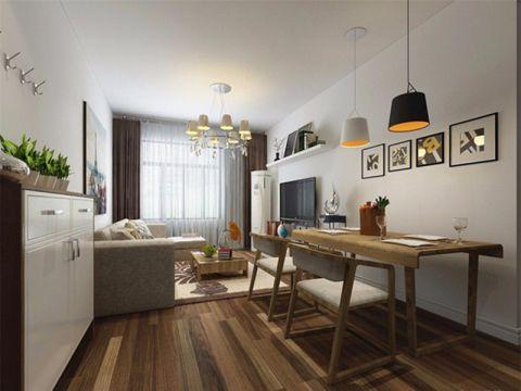 2021简约110平米装修图片 2021简约三居室装修设计图片