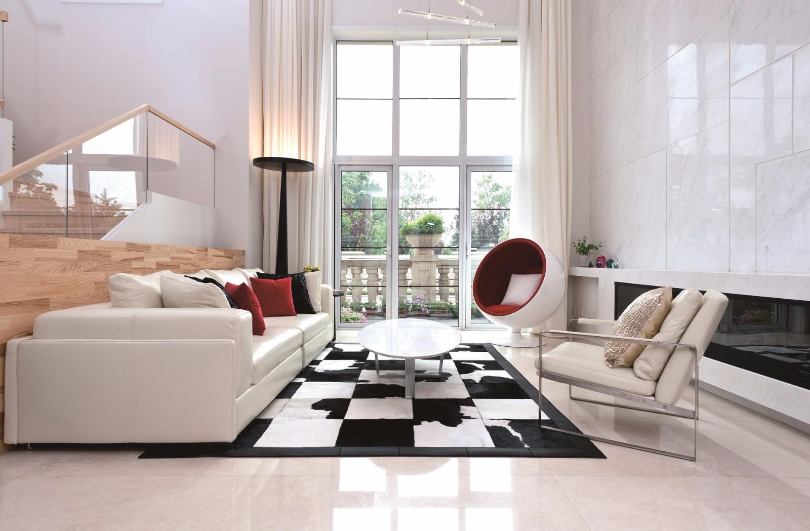 2室1卫1厅120平米现代风格