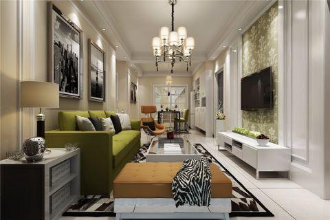 琥珀瑞安家園現代簡約復式樓層設計裝修效果圖
