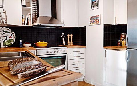 龙阳一号二居室北欧风格装修效果图