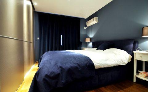 卧室背景墙现代风格装潢效果图