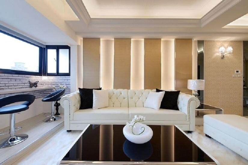 3室1卫1厅140平米现代风格