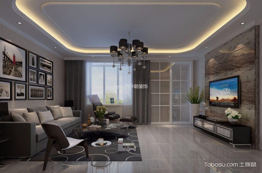 A+5*4三居室后现代风格装修设计效果图