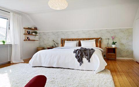 金色港湾二居室北欧风格装修效果图