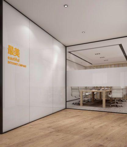望京SOHO最美壁纸公司工装效果图