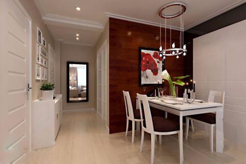 餐厅照片墙现代简约风格装饰设计图片
