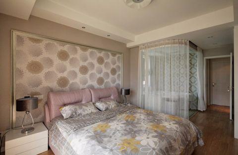卧室吊顶现代简约风格装潢图片