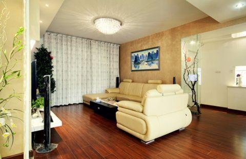 云都凤凰城现代简约三居室效果图