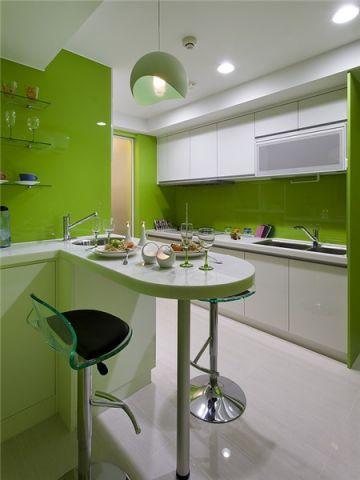 厨房背景墙现代风格装饰设计图片