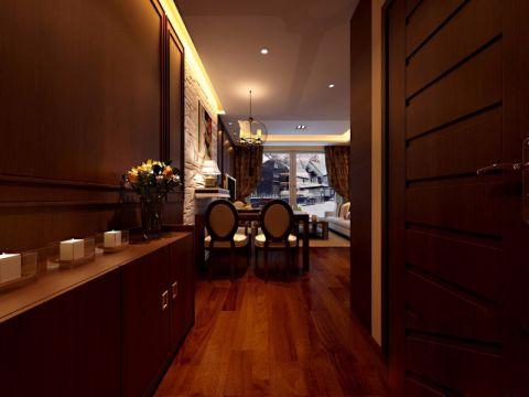 餐厅照片墙新中式风格装修效果图