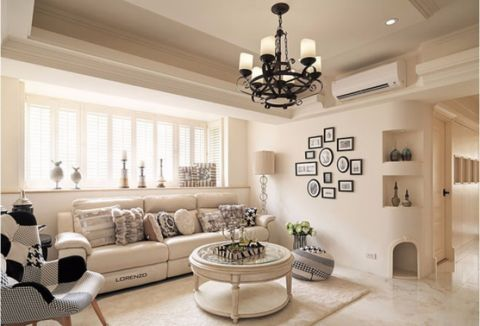 金帝海珀现代简约三居室效果图