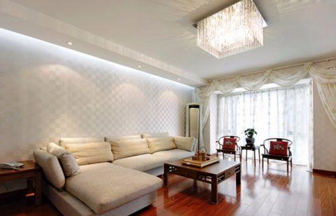 嘉和银领时代新中式风格三居室效果图