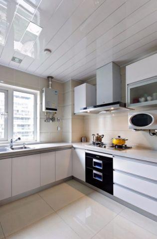 厨房吊顶新中式风格装修效果图