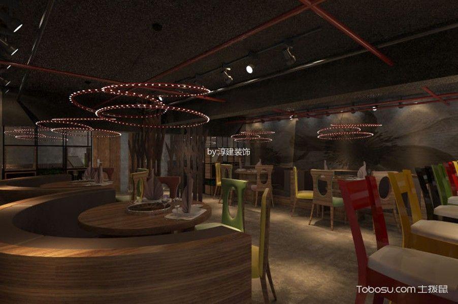 龙虾店餐厅吊顶装潢图片欣赏