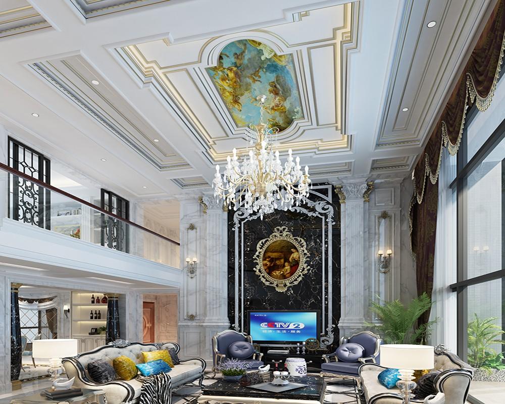 6室4卫3厅230平米法式风格