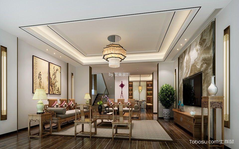 仁山智水480平别墅豪宅-现代中式风格
