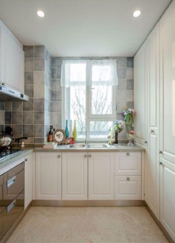 厨房吊顶简欧风格装饰图片