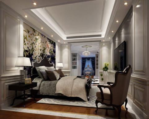 卧室法式风格装潢设计图片