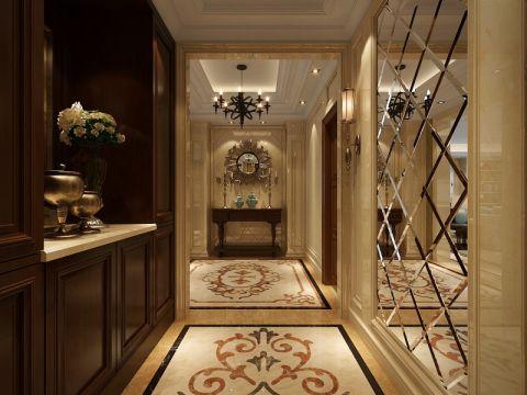 玄关吊顶美式风格装潢效果图