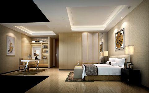 卧室背景墙中式风格效果图